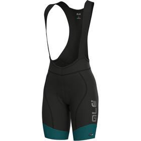 Alé Cycling PRS Master Bib Shorts Dame petroleum-turquoise